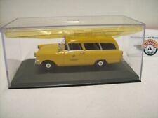 "Opel Rekord P1 Caravan ""DBP Fernmeldedienst"" 1958, yellow, Minichamps 1:43"