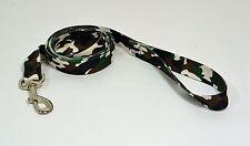 "NEW 6' Dog Camouflage Leash Lead 1"" W - Large"