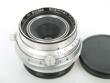 Steinheil Orthostigmat 35mm 1:4,5 Nr.600385 Made in Germany US Zone f. Leica M39
