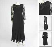 NEW Zaftique LACY SHOULDER GOWN Dress BLACK 1Z 2Z 5Z 6Z / XL 1X 2X 3X 4X 5X 6X