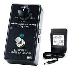 MXR Custom Audio Electronics MC-401 Boost/Line Driver w/ 9v power supply