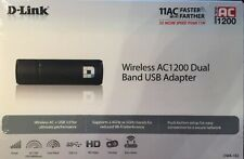 D-link AC1200 Dual Band USB Adapter Wifi Internet UBS 3.0 DWA-182