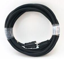 15' 12 Gauge Black Indoor/Outdoor Extension Cord