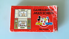 NINTENDO MICKEY & DONALD GAME AND WATCH JAPAN 1982 DM-53