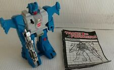 G1 Transformers Mexican IGA Topspin Complete With Instructions
