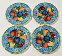 "Victoria & Beale Forbidden Fruit Salad Plates 7-3/4"" Set of FOUR"