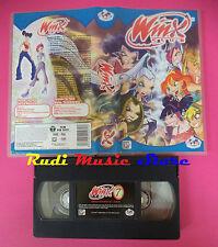 VHS film WINX CLUB 7 Attacco ad alfea 2004 animazione MONDO 00471 (F82) no dvd