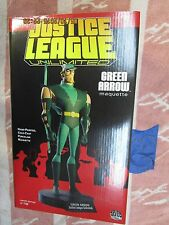 Q15 DC Direct Lot GREEN ARROW MAQUETTE STATUE JUSTICE LEAGUE UNLIMITED ANIMATED