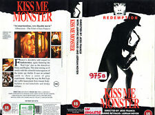 Kiss me Monster (1967) VHS Redemption  1a Ed.  INGLESE English Film Jess FRANCO