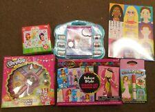 6 Assorted Toys Color Blast, Make-A-Face, Shopkins, Puzzle, Fashion Set, Frz Set