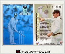1994/95 Futera Cricket Trading Cards Allan Border Hologram-MINT, GREAT VALUE!