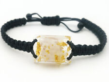 Selenite Orgonite(2.4cm x 1.8cm) Bracelet-Wealth,Love,Meditation-talisman