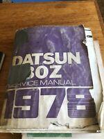 Datsun 280Z 1978 Model S30 Series Coupe Shop Service Repair Manual 2.8L