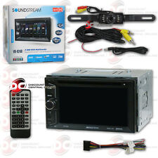 """SOUNDSTREAM VR-624B 6.2"""" TOUCH LCD DVD BLUETOOTH STEREO FREE LICENSEPLATE CAMERA"""