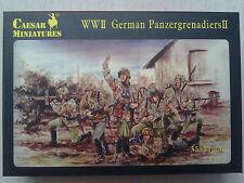Caesar Miniatures H053 WW II German Panzergrenadiers II 1:72 Neu in offener OVP
