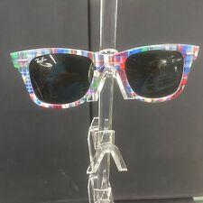Ray Ban Original Wayfarer sunglasses RB2140 1135 50mm TEXT PLAID ITALY