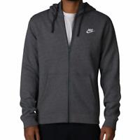 Nike Club Men's Fleece Hoodie, Tall Sizes, Full Zip, Hooded Sweatshirt Jacket