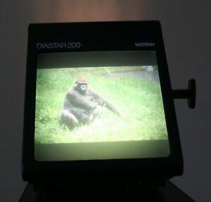 WOTAN DIASTAR 200. Desk top daylight viewer for slides and diapositives.