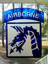 Xviii Airborne Corp Stained Glass Unit Crest