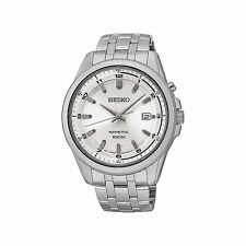 Seiko Men's Quartz (Battery) Stainless Steel Strap Watches