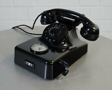 edles Merk W48 Bakelit Telefon Tischtelefon mit Gebührenzähler Baujahr 07.1963