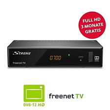 STRONG SRT 8541 DVB-T2 Receiver, freenet-TV Full HD NEU Schwarz