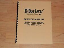 Daisy Models 102-111-95 Factory Service Manual - #D2
