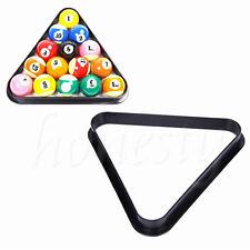 "Plastic 8 Ball Pool Billiard Table Rack Triangle Rack for Standard 2 1/4"" Size"