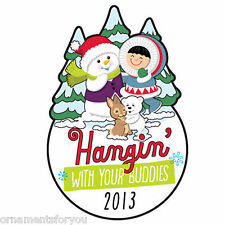 Hallmark 2013 Hangin w your Buddies Frosty Friends Lapel Pin KOC Show Kansas