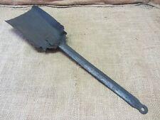 Vintage Iron Coal Shovel > Antique Old Handforged Rivets Railroad 6700