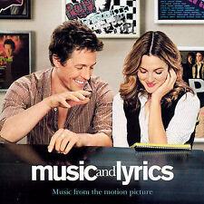 Music And Lyrics Original Soundtrack CD Various Hugh Grant Drew Barrymore  NEW