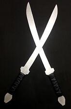 Aluminum Practice Krabi Krabong 2 Muay Thai Swords Training Burma DHA Sword