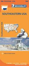 USA South East Map (Michelin Road Atlases & Maps)