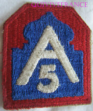 IN7980 - INSIGNE 5th ARMY Patch