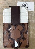 Disney Parks Mickey Mouse Ice Cream Bar ID Card Case New