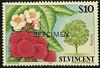 St. Vincent #730 MNH Specimen CV$12.00 Roucou Bixa orellana