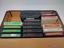 Vintage Ti 99 /4A Game cartridge lot of 14 Computer with case Speech Synthesizer
