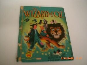 The Wizard of Oz Wonder Books Vintage Hardcover L. Frank Baum's Famous Story