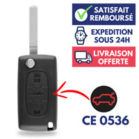 Boitier Coque Clé de voiture Télécommande pour Plip PEUGEOT 207 307 407 308 607