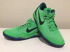 purchase cheap d9750 43588 Nike Kobe Bryant VIII 8 Elite SUPERHERO Green Mambacurial 555586 301 - Size  5.5Y