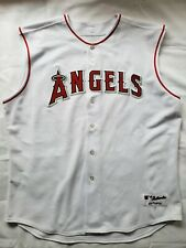 MLB Los Angeles Angels Majestic Men's Short Sleeve White Jersey (Size 3XL - 54)