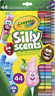 44 Pack Crayola Silly Scents Scented Twistables Pencils & Washable Slim Markers