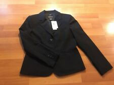NEW Style & Co Women's Blazer Black size 4 Shoulder Pads NWT Work Career