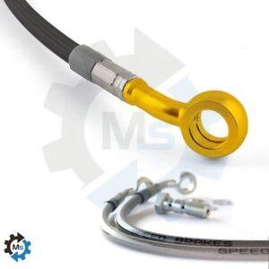 Durite carbone raccord or - frein avant buell x... Speedbrakes-tecnium 358200425