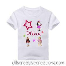 American girl t-shirt, Birthday, American girl, Dolls, custom t-shirts, shirts
