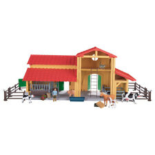 Ferme portable en bois 9pcs playtive