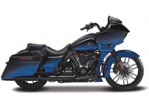 Maisto 1:18 Harley Davidson 2018 CVO Road Glide Bike Motorcycle Model NEW BLUE