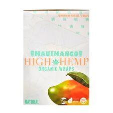 Maui MANGO High Hemp Herbal Organic Wraps 25 pouches(50 total wraps) 0 Nicotine