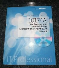 10174A Microsoft Office configure  administratin 2010 IT Professional book no cd