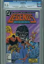 Legends 1 CGC 9.6 1st Amanda Waller Suicide Squad Darkseid Deadshot Rick Flag DC